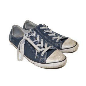 Converse Chuck Taylor Blue Thin Sole Sneakers